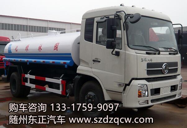国五东风天锦洒水车-SZD5160GPSD5V型绿化喷洒车