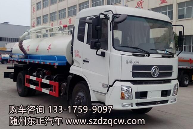 国五东风天锦吸粪车-SZD5160GXED5V型吸粪车